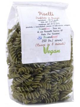 Bronze-drawn Peas Fusilli 250g – Organic