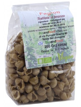 Bronze-drawn borlotti beans 250g - Organic