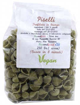 "Bronze-drawn Peas ""conchiglie"" 250g - Organic"