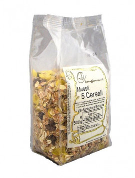 5 cereals granola 500g - Organic