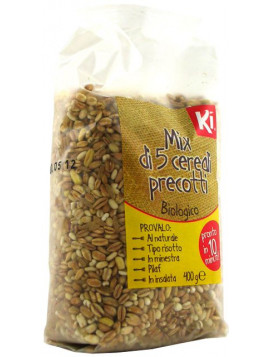 5 cereals parboiled mix 400g - Organic