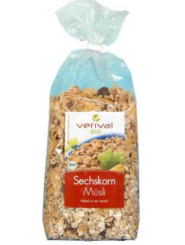 6 Cereals granola 500g - Organic