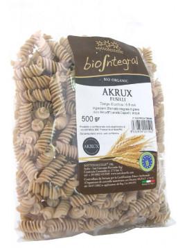 Akrux ® (Senatore Cappelli) Wholemeal Fusilli 500g - Organic