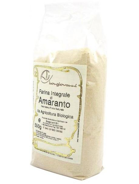 Amaranth flour 500g – Gluten free - Bongiovanni (Farine e bontà naturali)