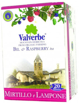Blueberry and raspberry Infusion (20) 30 g - Organic