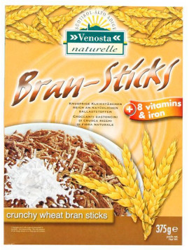 Bran Sticks with vitamins and iron 375g