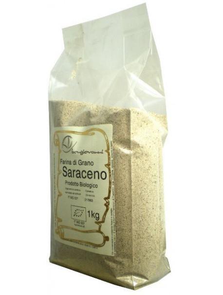 Buckwheat wholemeal flour 1Kg – Organic - Gluten free - Bongiovanni (Farine e bontà naturali)