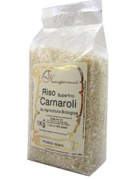 Carnaroli extra-thin rice 1Kg - Organic