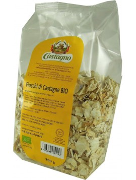 Chestnut flakes 250g - Organic