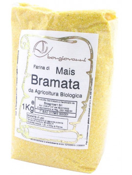 Corn flour in bigger grains 1Kg - Organic