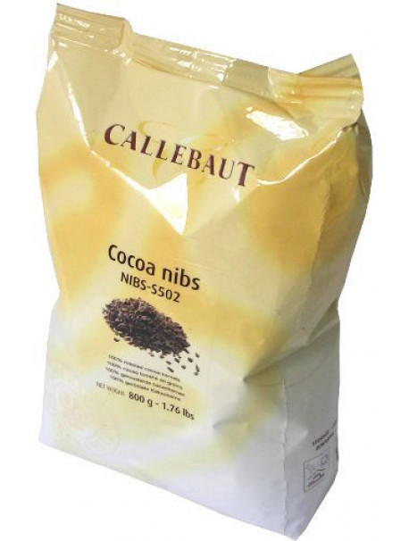 Crushed cocoa broad beans 800 g - Callebaut