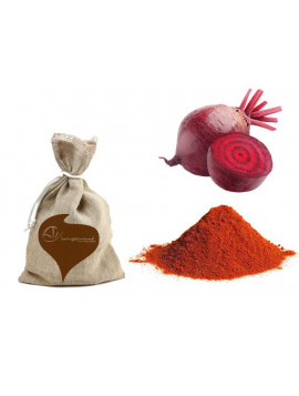 Dehydrated beet powder (natural coloring) 250g - Organic