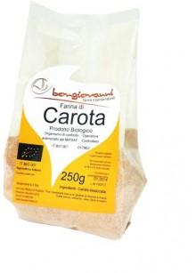 Dehydrated carrot powder 250g - Organic
