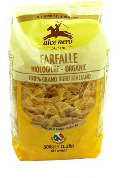 Durum wheat Farfalle - Organic  500g