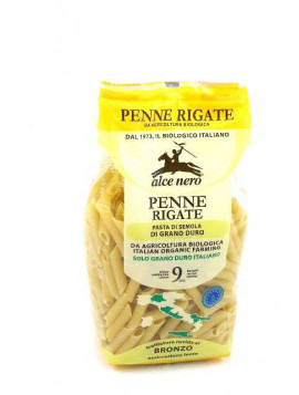 Durum wheat wholemeal Penne 500g - Organic