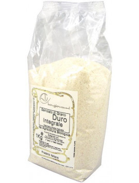 Durum wheat wholemeal semolina 1Kg - Organic