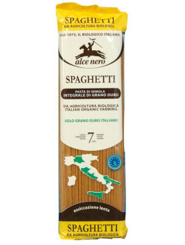 Durum wheat wholemeal Spaghetti 500g - Organic