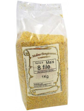 Fine cornmeal partially wholemeal flour 1Kg