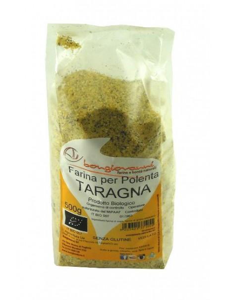 Flour for Polenta Taragna 500g - Organic – Gluten free - Bongiovanni (Farine e bontà naturali)