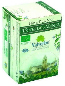 Green tea with Mint (20 filter bags) 30g - Organic