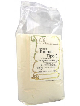 Kamut ® flour milled on cylinders 1Kg - Organic