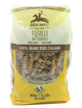 Durum wheat wholemeal Fusilli 500g - Organic