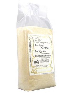 Kamut ® wholemeal semolina 1Kg - Organic
