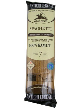 Kamut ® Wholemeal Spaghetti 500g (Alce Nero) - Organic