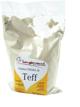 Light Teff flour 500g – Gluten free