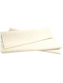 Cotton  and polyethylene baking towel 75 X 100