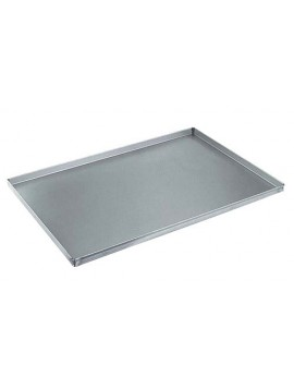Micro-pierced Aluminum baking tray 600x400xh.20Mm