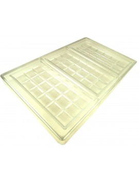 Mold for chocolate bars 70 mm x 150 mm (Professional)