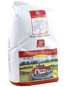 Multigrain flour with poppy seeds 5Kg - Organic