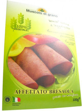 "Muscolo di Grano ""Vegetable meat"" Bresaolina 100g - Organic"
