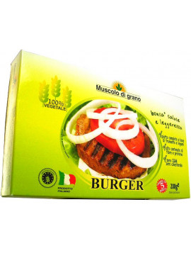 "Muscolo di Grano ""Vegetable meat"" burger (100g x 2) 200g - Organic"