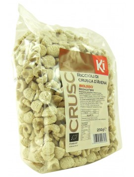 Oat bran curls - Organic  250g
