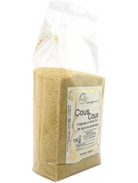 Partially wholemeal durum wheat Couscous 1Kg - Organic