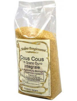 Partially wholemeal durum wheat Couscous 500g - Organic