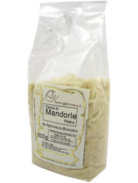 Peeled almonds flour 500g - Organic