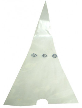 Polyethylene piping bag