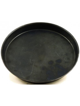 Round blue iron pan 24cm
