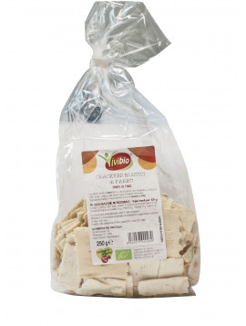Rustic Spelt crackers 250g - Organic