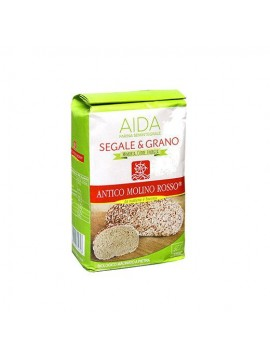 Rye and grain flour (Aida) 5Kg - Organic