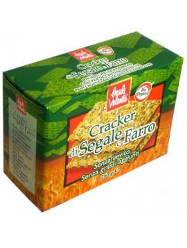 Rye and spelt crackers 250g - Organic