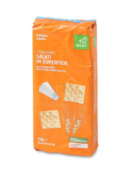 Sesame and Rosemary crackers 250g (8 sachets) - Organic