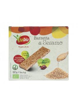 Sesame snacks (6 x 20 g) 120 g - Organic