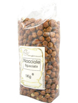 Shelled hazelnuts (natural) 1Kg - Organic