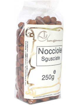 Shelled hazelnuts (natural) 250g - Organic