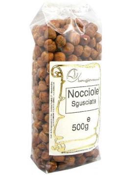 Shelled hazelnuts (natural) 500g - Organic