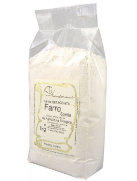 Sifted Spelt flour 1Kg - Organic